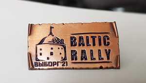 Pin Baltic Rally 2021'