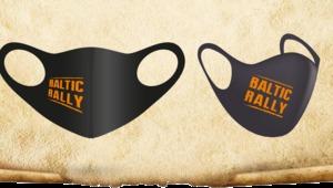 Protective mask of Baltic rally