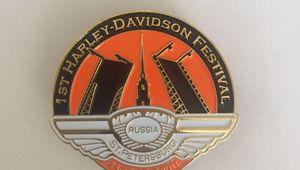 EXCLUSIVE! Pin St.Petersburg Harley Days 2011!