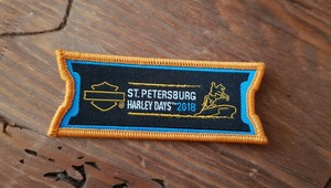 Patch ST.PETERSBURG HARLEY DAYS