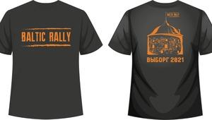 T-Shirt Baltic Rally 2021'